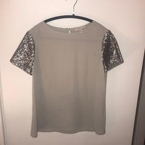 Banana Republic Heritage Silk top, Size SMALL